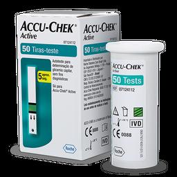 Tiras Accu Chek Active para Controle de Glicemia