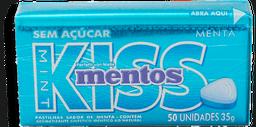 Drops Mentos Kiss Menta 35 g