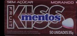 Mentos Kiss Morango 35 g