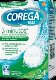 Limpador de Dentadura Corega Tabs 24 comprimidos