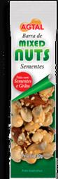 Barra De Mixed Nuts Semente Agtal 30 g