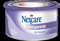 Fita Transpore Nexcare Transparente 25Mmx4,5M