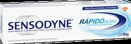 Creme Dental Sensodyne Rápido Alívio 50 g