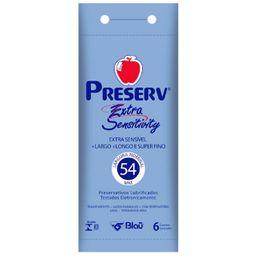 Preservativo Preserv Extra Sensitivity Com 6 Und