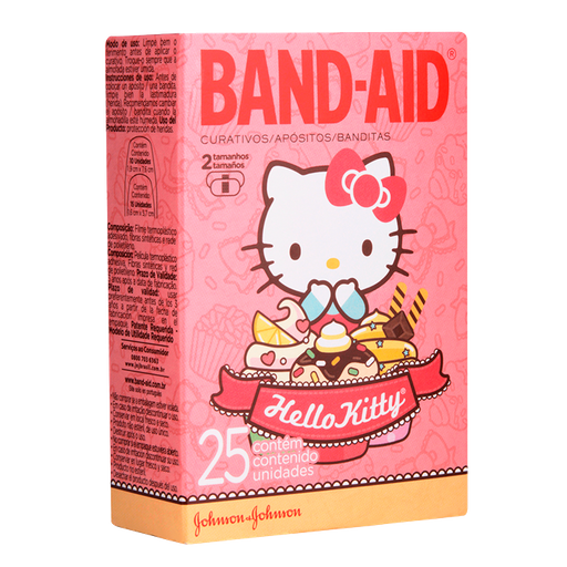 Curativo Hello Kitty Band-Aid 25 U