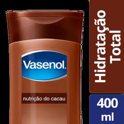Loção Hidratante dorpo Vasenol Cacau 400m