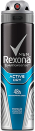 Desodorante Aerosol Rexona Active Men 48h 150mL 3x2