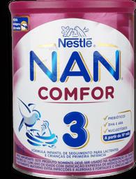 Formula Infantil Nan Comfor 3 Com Ferro Para Lactenes Com 800 g