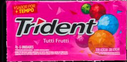 Goma de Mascar TRIDENT Tutti Frutti Bag 32G