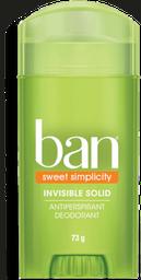 Desodorante Sólido Ban Sweet Simplicity 73 g