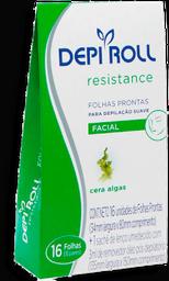 Folhas Depilação Facial DepiRoll 1 Pacote c 8 pares