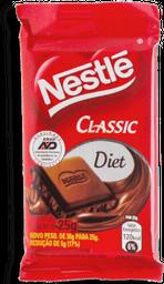 Chocolate ao Leite Nestlé Classic Diet 25 g