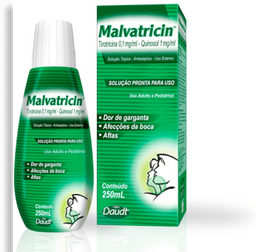 Antisséptico Bucal Malvatricin 250 mL