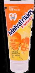 Creme Dental Malvatrikids Tutti-Frutti Flúor 70 g