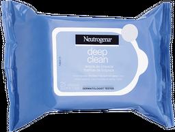 Demaquilante NEUTROGENA® DEEP CLEAN® 25 Unds