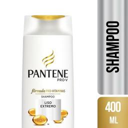 Shampoo Novo Pantene Lisos Extremo 400 mL