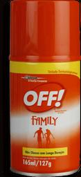 Repelente Off Family Aerosol 165 mL
