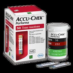 Fita Accu Check Performa Com 50 Testes