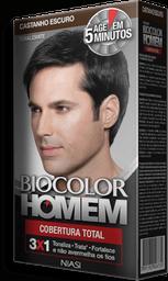 Tonalizante Biocolor Niasi Homem Castanho Escuro 1 Und