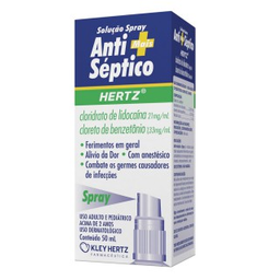 Antiséptico Hertz Spray 50 mL