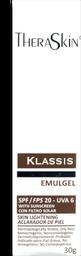 Clareador Pele Klassis Emulgel FPS 20 30 g
