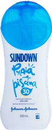 Protetor Solar Sundown Praia e Piscina FPS 30 200 mL