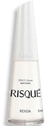Esmalte Risqué Natural Renda 8 mL