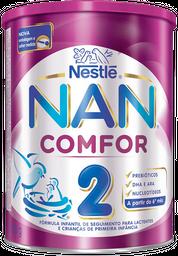 Formula Infantil Nan Comfor 2 Com Ferro Para Lactenes Com 800 g