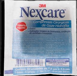 Gaze Nexcare Esteril Com 10 Un