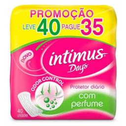 Protetor Diário Intimus Days Sem Perfume Leve 40 Pague 35