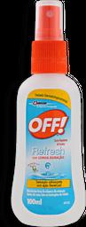 Repelente Spray OFF Refresh 100mL