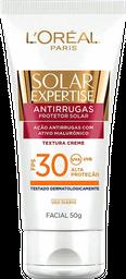Protetor Solar Facial Anti-rugas FPS 30 de L'Oréal Paris 50g