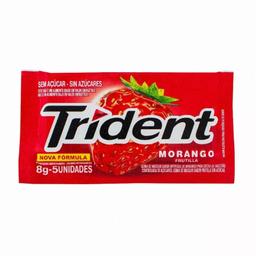Goma de Mascar TRIDENT Morango Bag 32g