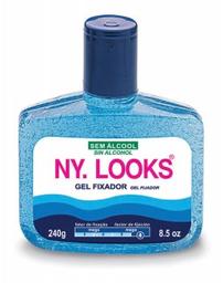 Gel Ny Looks Fixador Azul 240 g