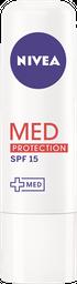 Protetor Labial Nivea Med Protection FPS 15 4,8g