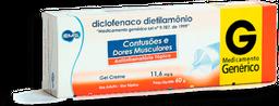 Diclofenaco Dietilamônio EMS 60g Gel creme