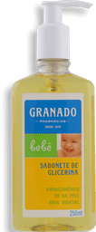 Sabonete Líquido Infantil Glicerina Tradicional Granado 250 mL
