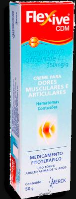 Flexive Cdm 350 Mg Creme Dermatológico Bisnaga