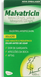 Antiséptico Bucal Malvatricin 100 mL