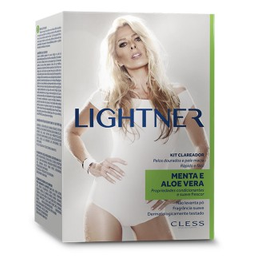 Kit Clareador Lightner Com Aloe Vera Powder Free Menta