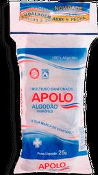 Algodão Apolo Hidrófilo 25 g