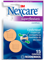 Curativo Nexcare 3M Confort Redondo Com 15 Und