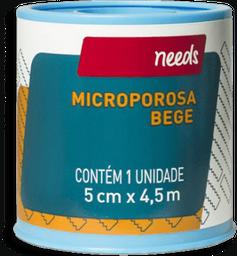 Esdrapo Microporoso Bege 5cm X 4,5m Needs 1 Und