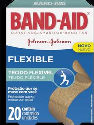 Curativos Flexible Band-Aid Johnson & Johnson 20 U
