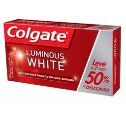 Creme Dental Colgate Luminous White Leve 2 De 70 g