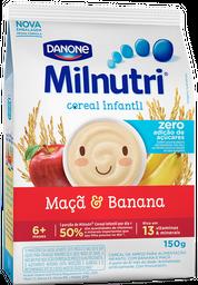 Milnutri Cereal Arroz Banana E Maçã S/ Açúcar - Sh 150G