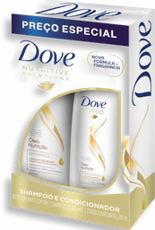 Kit Dove Nutri Shampoo 400 mL + Condicionador 200 mL