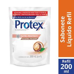 Sabonete Líquido Protex Nutri Protect Macadâmia 200ml Refil