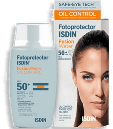 Fotoprotetor Isdin Fusion Water Oil Control FPS 50+ 50 mL