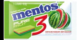 Goma de Mascar Pure Fruit Melancia Mentos 8,5g